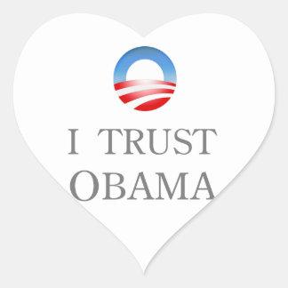 I Trust Obama Sticker