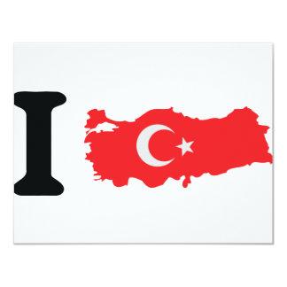 I turkey icon card