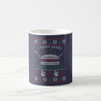 I turn cakes into art - Christmas Coffee Mug