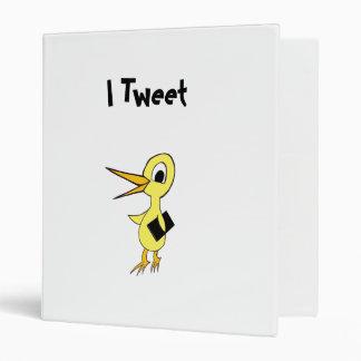 I Tweet Avery Binder