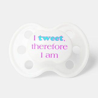 I Tweet Baby Pacifiers