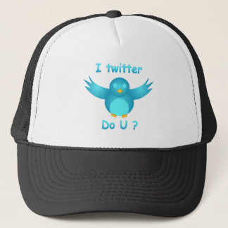 I TWITTER, DO U ? by SHARON SHARPE Trucker Hat