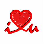 i ♥ u (corazón de i usted) esculturas fotograficas