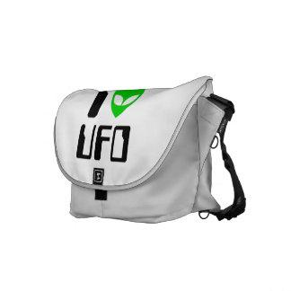 I UFO del corazón del extranjero Bolsa Messenger