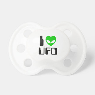 I UFO del corazón del extranjero Chupetes De Bebe