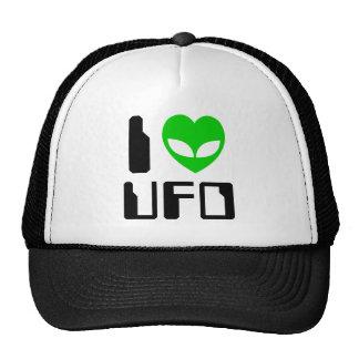 I UFO del corazón del extranjero Gorras