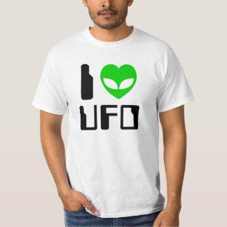 I UFO del corazón del extranjero Playera