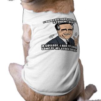 i understand crippling student debt - .png pet t-shirt