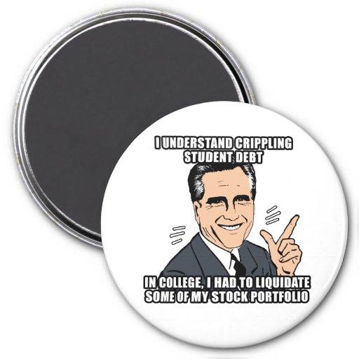 i understand crippling student debt - .png 3 inch round magnet