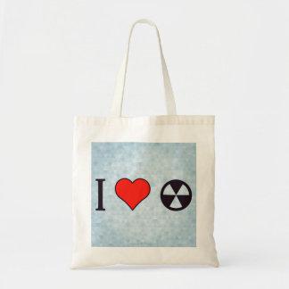 I uranio del corazón bolsa tela barata