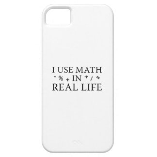 I Use Math In Real Life iPhone SE/5/5s Case