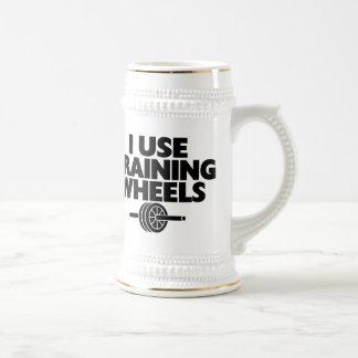 I Use Training Wheels Beer Stein