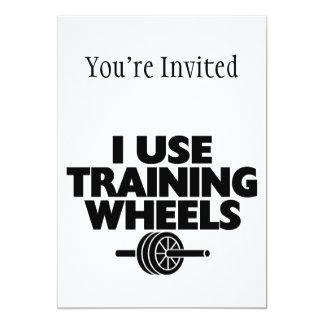 I Use Training Wheels Card