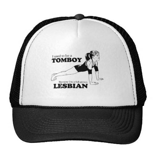 I USED TO BE A TOMBOY TRUCKER HAT