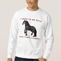 ' I used to be Rich...' Horse Tees - Customized