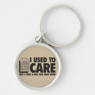 I used to care keychain