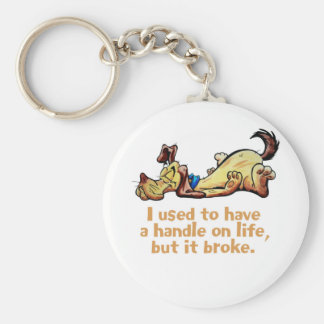 I Used to Have a Handle on Life Keychain