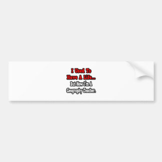 I Used to Have a Life...Geography Teacher Car Bumper Sticker