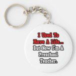 I Used to Have a Life...Preschool Teacher Key Chain