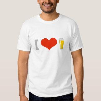 i v2 love beer 3c playeras