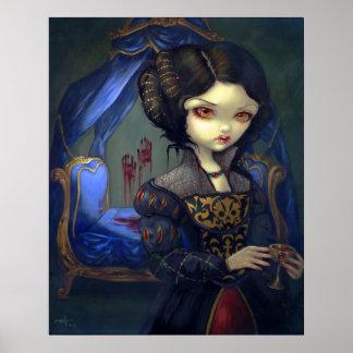 I Vampiri: Bellissimo Letto Print gothic vampire