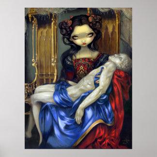 I Vampiri: Fantasía gótica del vampiro de la IMPRE Póster