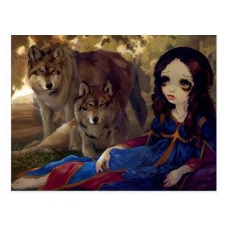 """I Vampiri:  I Lupi"" Postcard"