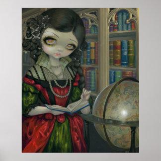 I Vampiri La Libreria ART PRINT gothic vampire art