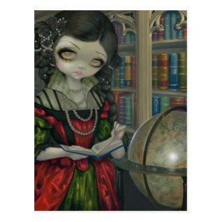 """""""I Vampiri: La Libreria"""" Postcard"""