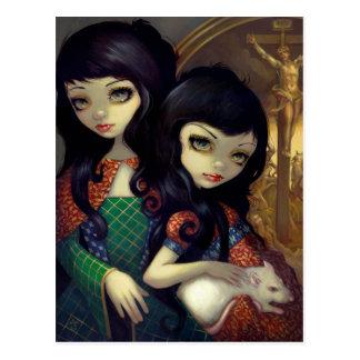 I Vampiri La Sorelle Postcard