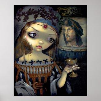 I Vampiri: Lucrezia Borgia ART PRINT vampire print