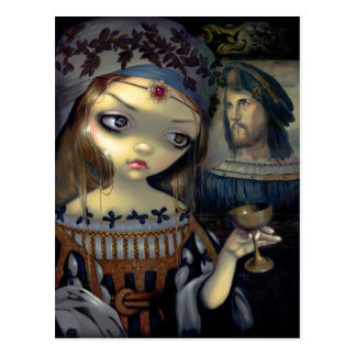 """I Vampiri: Lucrezia Borgia"" Postcard"