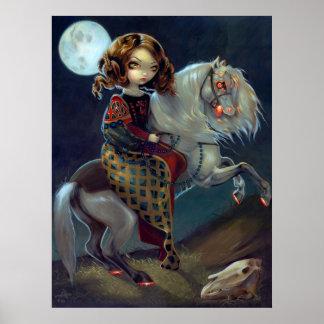 I Vampiri: Notte un caballo del vampiro de la IMPR Poster