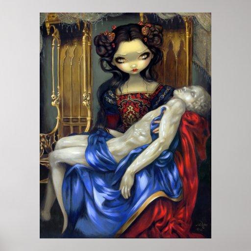 I Vampiri: Pietà ART PRINT gothic vampire fantasy