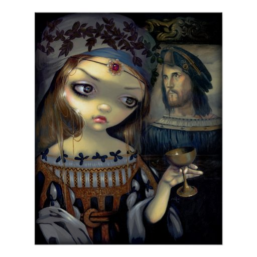I Vampiri: Vampiro de la IMPRESIÓN del ARTE de Luc Póster