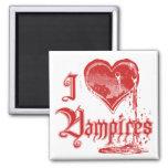 I vampiros del corazón iman para frigorífico