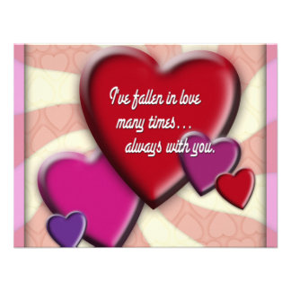 I ve fallen in love many times announcement
