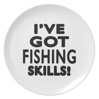 I ve Got Fishing Skills Plates