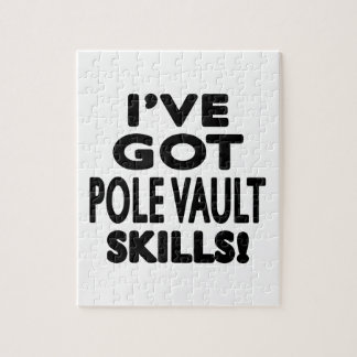 I ve Got Pole vault Skills Puzzles