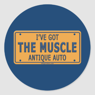 I ve Got The Muscle Car Stickers