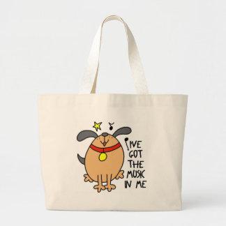 I ve Got The Music In Me Funny Tote Bag