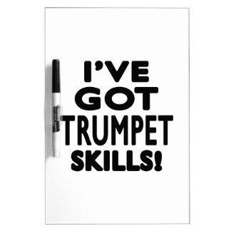 I ve Got Trumpet Skills Dry Erase White Board