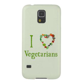 I vegetarianos del corazón fundas para galaxy s5