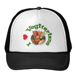 I vegetarianos del corazón gorro