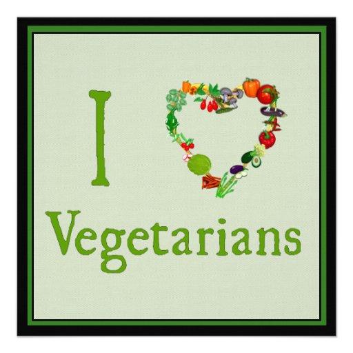 I vegetarianos del corazón invitación personalizada