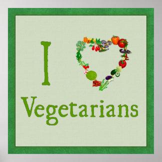 I vegetarianos del corazón impresiones