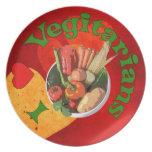 I vegetarianos del corazón platos