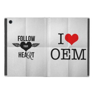 I versión 5 de la serie del OEM del corazón iPad Mini Protector