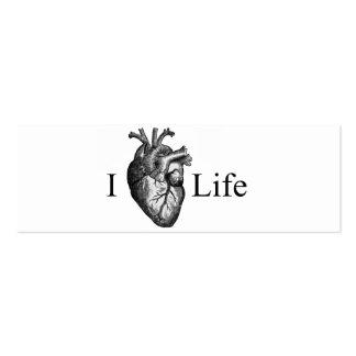 I vida del corazón tarjeta de visita