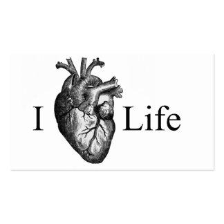 I vida del corazón tarjetas de visita